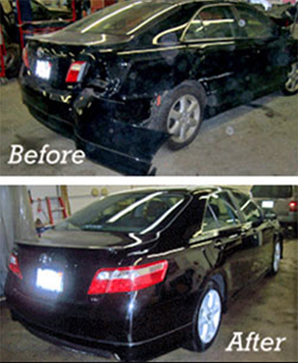 Auto Repair Before and After